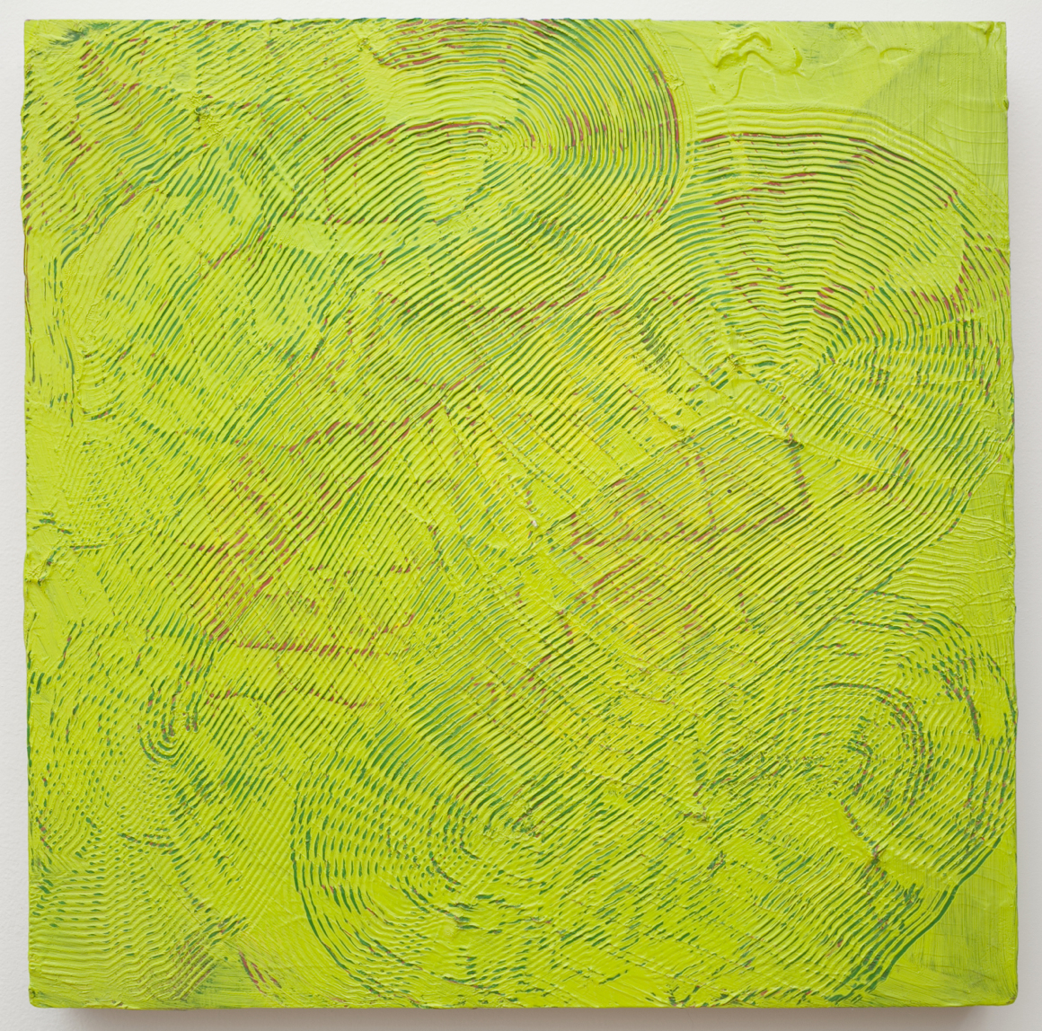 "<p><span class=""name"">Adam Bateman</span><br><em>Green</em><span class='media'>acrylic and spray paint on panel</span>15.5 x 15.5 in  (39.4 x 39.4 cm)<br>2014<br><a class='inquire' href='mailto:info@gildargallery.com?subject=Artwork Inquiry ABAT0009&body=I am interested in finding out more about Green by Adam Bateman'>Inquire</a></p>"