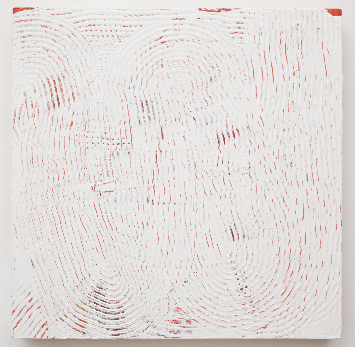 "<p><span class=""name"">Adam Bateman</span><br><em>White and Red</em><span class='media'>acrylic and spray paint on panel</span>15.5 x 15.5 in  (39.4 x 39.4 cm)<br>2014<br><a class='inquire' href='mailto:info@gildargallery.com?subject=Artwork Inquiry ABAT0012&body=I am interested in finding out more about White and Red by Adam Bateman'>Inquire</a></p>"