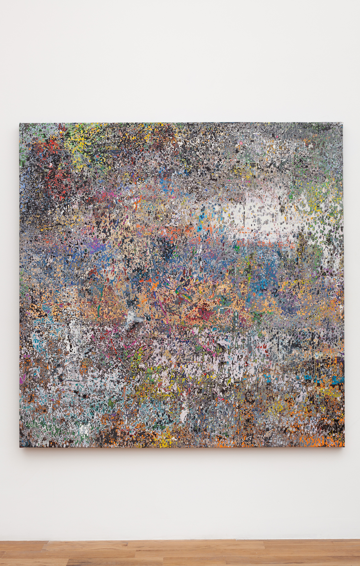 "<p><span class=""name"">Andrew Jensdotter</span><br><em>Artforum April 2005</em><span class='media'>Acrylic on canvas</span>64.5 x 64.5 in (163.8 x 163.8 cm)<br>2016<br></p>"