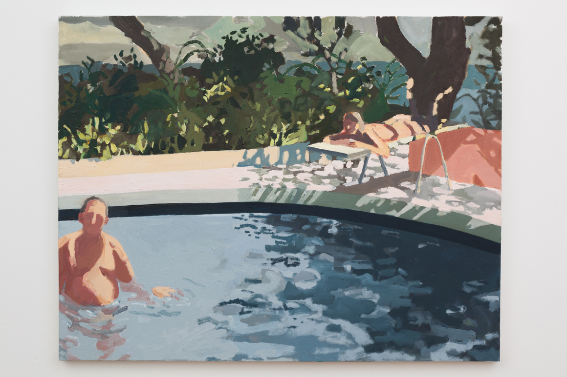 "<p><span class=""name"">Sophie Treppendahl</span><br><em>That Summer Feeling (is gonna haunt you one day in your life)</em>39 x 50 in  (99.1 x 127 cm)<br>2017<br><a class='inquire' href='mailto:info@gildargallery.com?subject=Artwork Inquiry STRE0002&body=I am interested in finding out more about That Summer Feeling (is gonna haunt you one day in your life) by Sophie Treppendahl'>Inquire</a></p>"