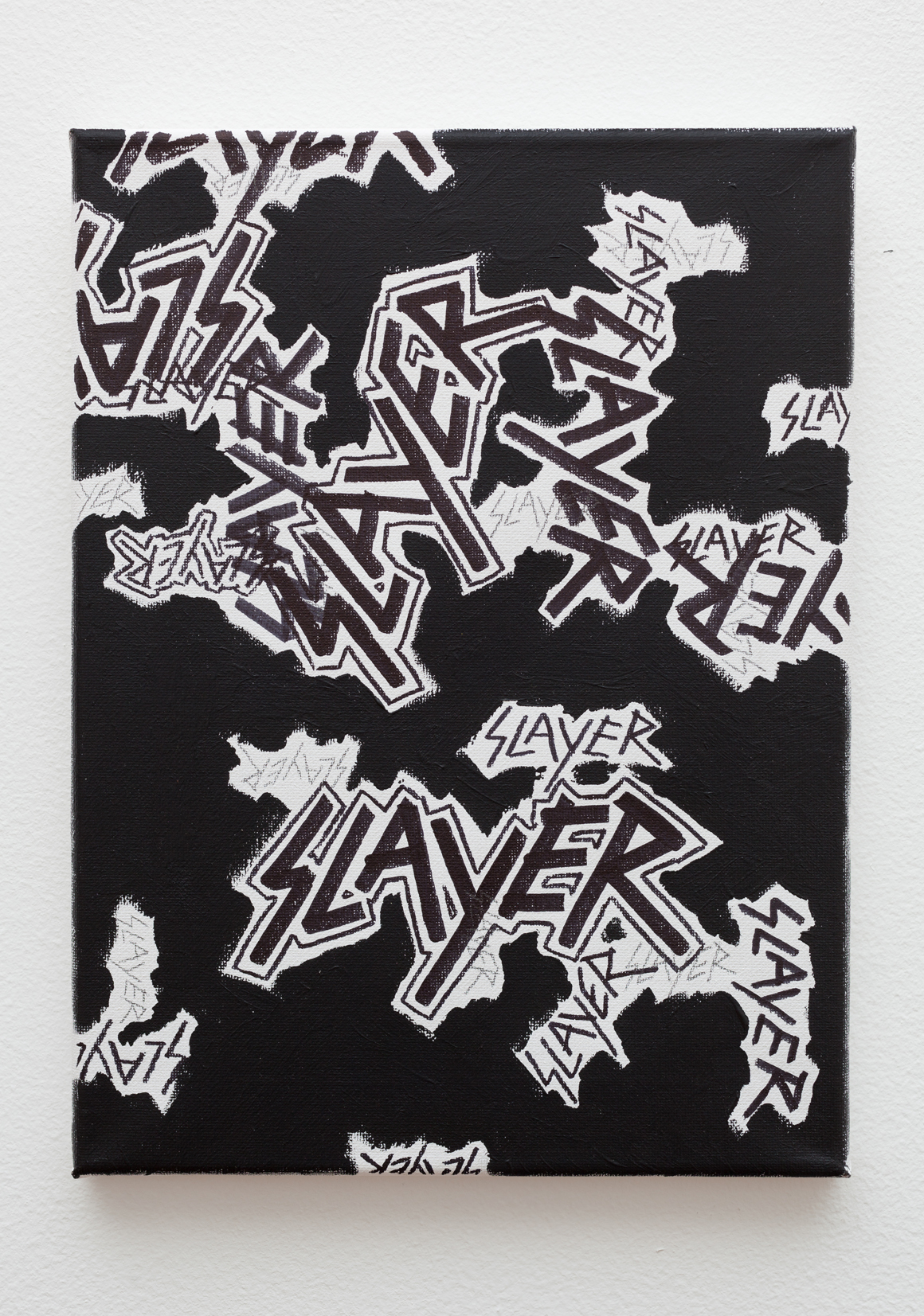 "<p><span class=""name"">Zach Reini</span><br><em>Slayer</em><span class='media'>Sharpie, graphite, latex on canvas</span>12 x 9 in  (30.5 x 22.9 cm)<br>2015<br><a class='inquire' href='mailto:info@gildargallery.com?subject=Artwork Inquiry ZREI0028&body=I am interested in finding out more about Slayer by Zach Reini'>Inquire</a></p>"