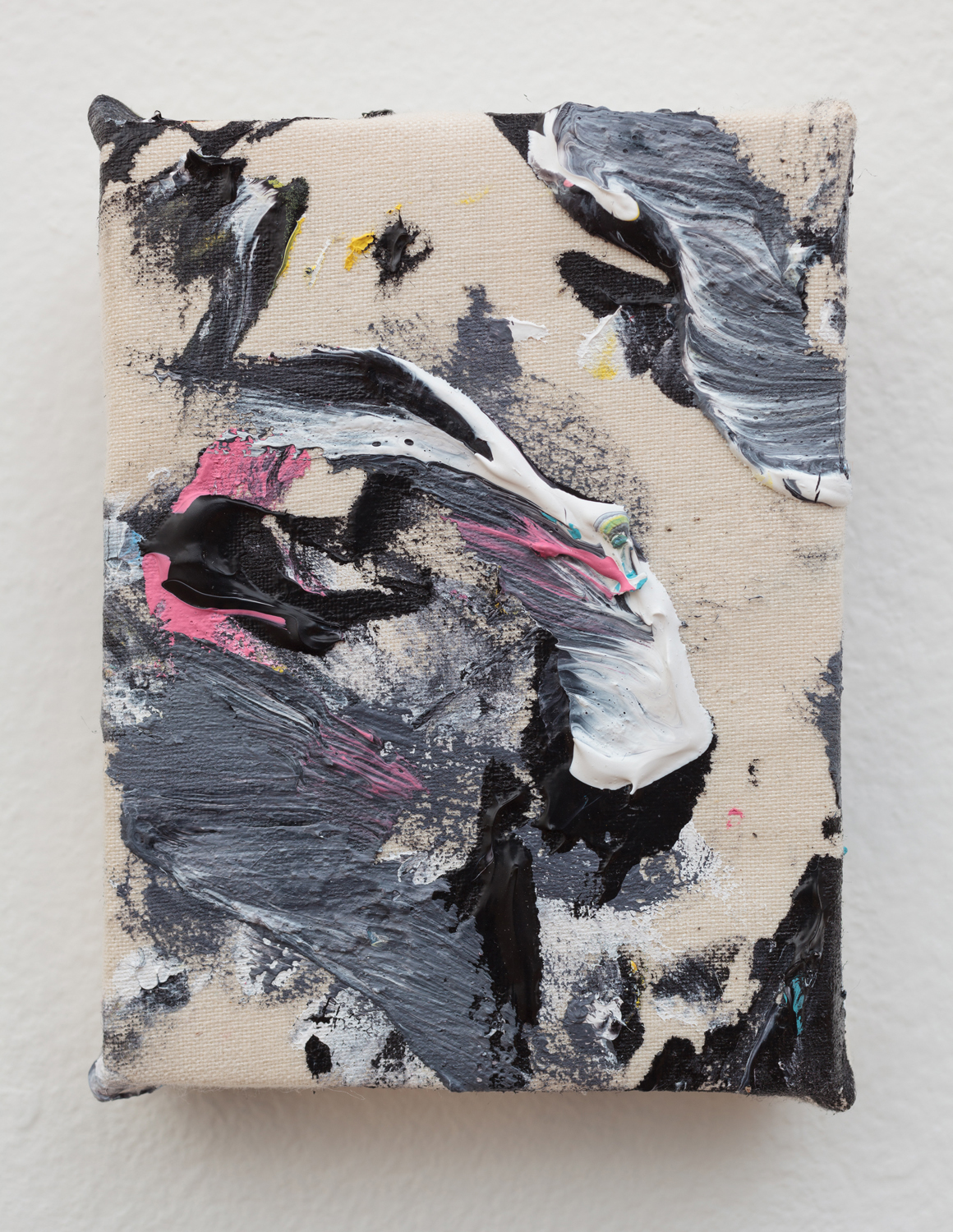 "<p><span class=""name"">Zach Reini</span><br><em>Tiny Painting 5</em><span class='media'>Acrylic on canvas</span>4 x 3 in (10.2 x 7.6 cm)<br>2018<br><a class='inquire' href='mailto:info@gildargallery.com?subject=Artwork Inquiry ZREI0043&body=I am interested in finding out more about Tiny Painting 5 by Zach Reini'>Inquire</a></p>"