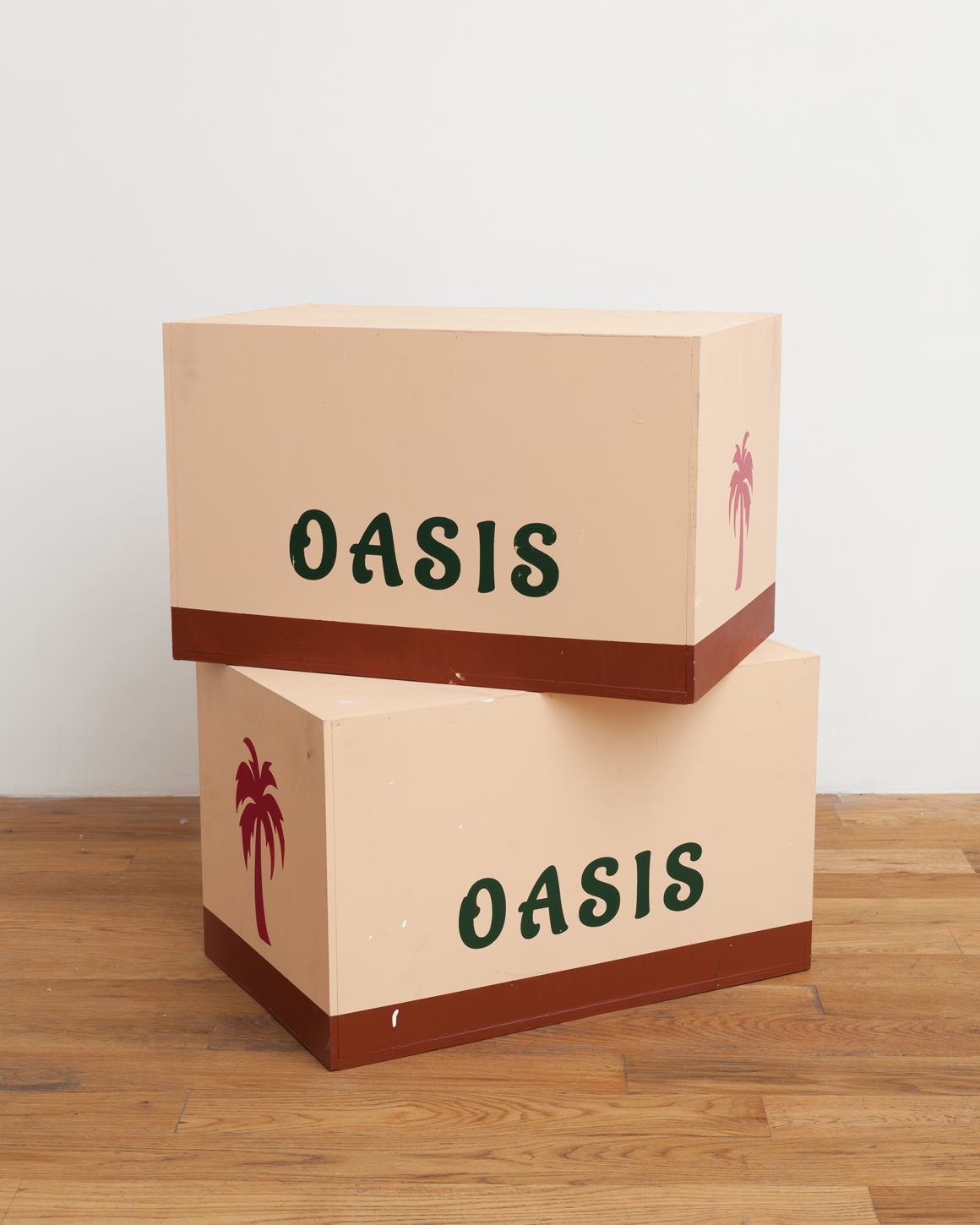 "<p><span class=""name"">Adam Stamp</span><br><em>Oasis Boxes (Sculptural Teaser Trailer for a Future Show, Presently Past)</em>Edition of AP 1 of 6 