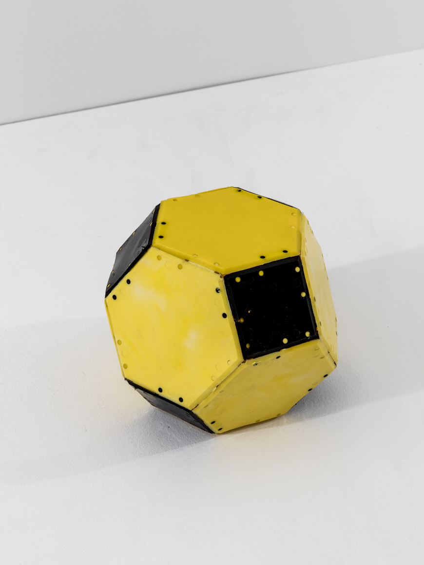 "<p><span class=""name"">Clark Richert</span><br><em>Truncated Octahedron</em><span class='media'>injection molded polyethelene</span>5 x 6.5 x 6.5 in (12.7 x 16.5 x 16.5 cm)<br>1970<br><a class='inquire' href='mailto:info@gildargallery.com?subject=Artwork Inquiry CRIC0038&body=I am interested in finding out more about Truncated Octahedron by Clark Richert'>Inquire</a></p>"