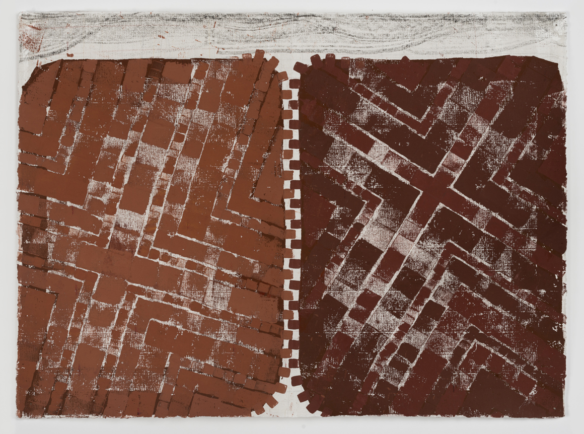<p><em>Untitled (Rusty Zipper)</em><span class='media'>Block-printing ink, Sumi ink, watercolor, gouache, graphite, colored pencil, crayon and natural pigments on hand-made paper</span>26 x 19 in (66 x 48.3 cm)<br>22 1/8 x 29 1/8 in (56.2 x 74 cm) Framed (framed)<br>2017<br><a class='inquire' href='mailto:info@gildargallery.com?subject=Artwork Inquiry NPOL0001&body=I am interested in finding out more about Untitled (Rusty Zipper) by Noah Pollack'>Inquire</a></p>