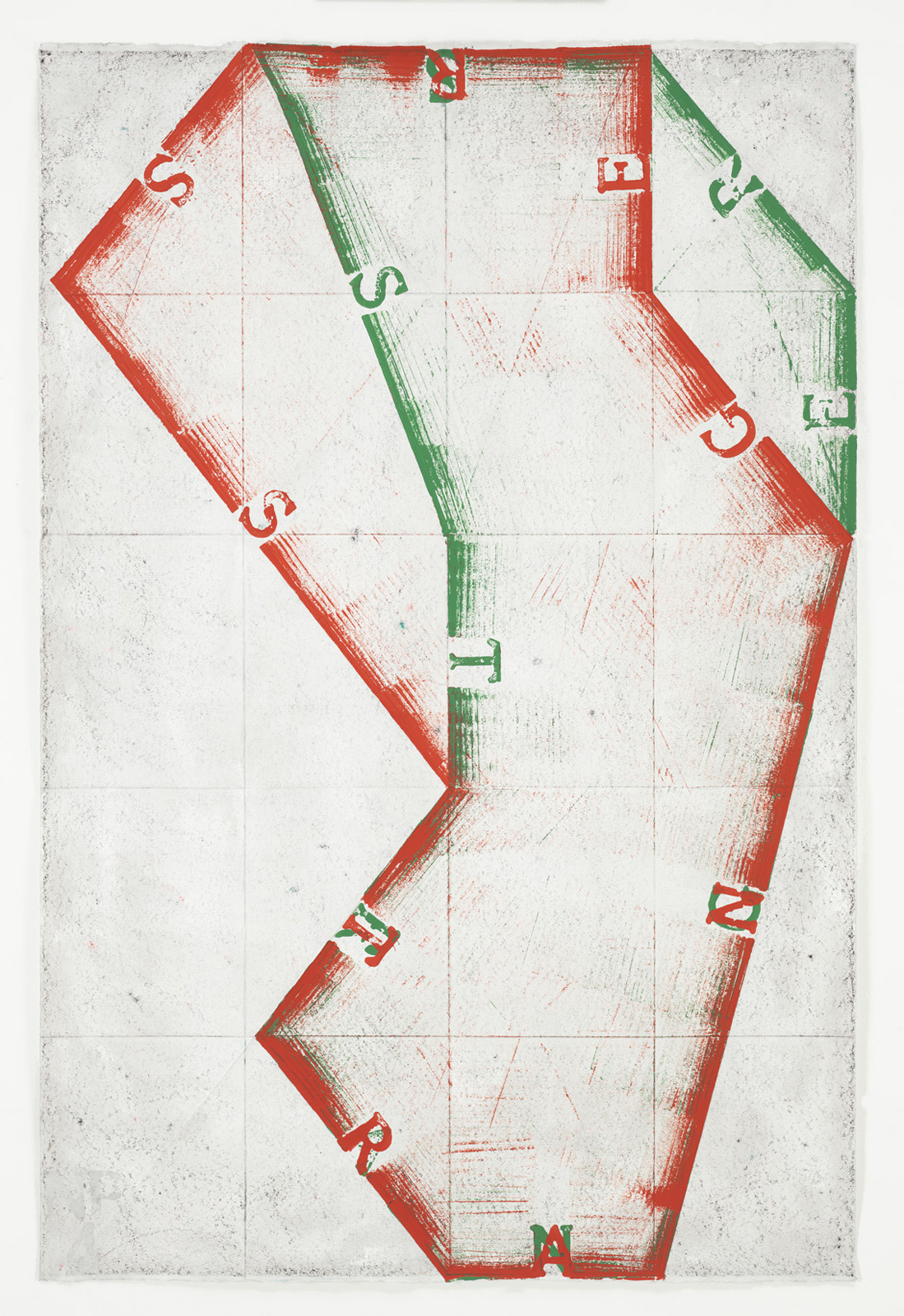 <p><em>Strangers/Strangers</em><span class='media'>Block-printing ink, Sumi ink, crayon, graphite and natural pigments on hand-made paper</span>47.5 x 31.5 in (120.7 x 80 cm)<br>34 5/8 x 50 in (87.9 x 127 cm) Framed (framed)<br>2015<br><a class='inquire' href='mailto:info@gildargallery.com?subject=Artwork Inquiry NPOL0012&body=I am interested in finding out more about Strangers/Strangers by Noah Pollack'>Inquire</a></p>
