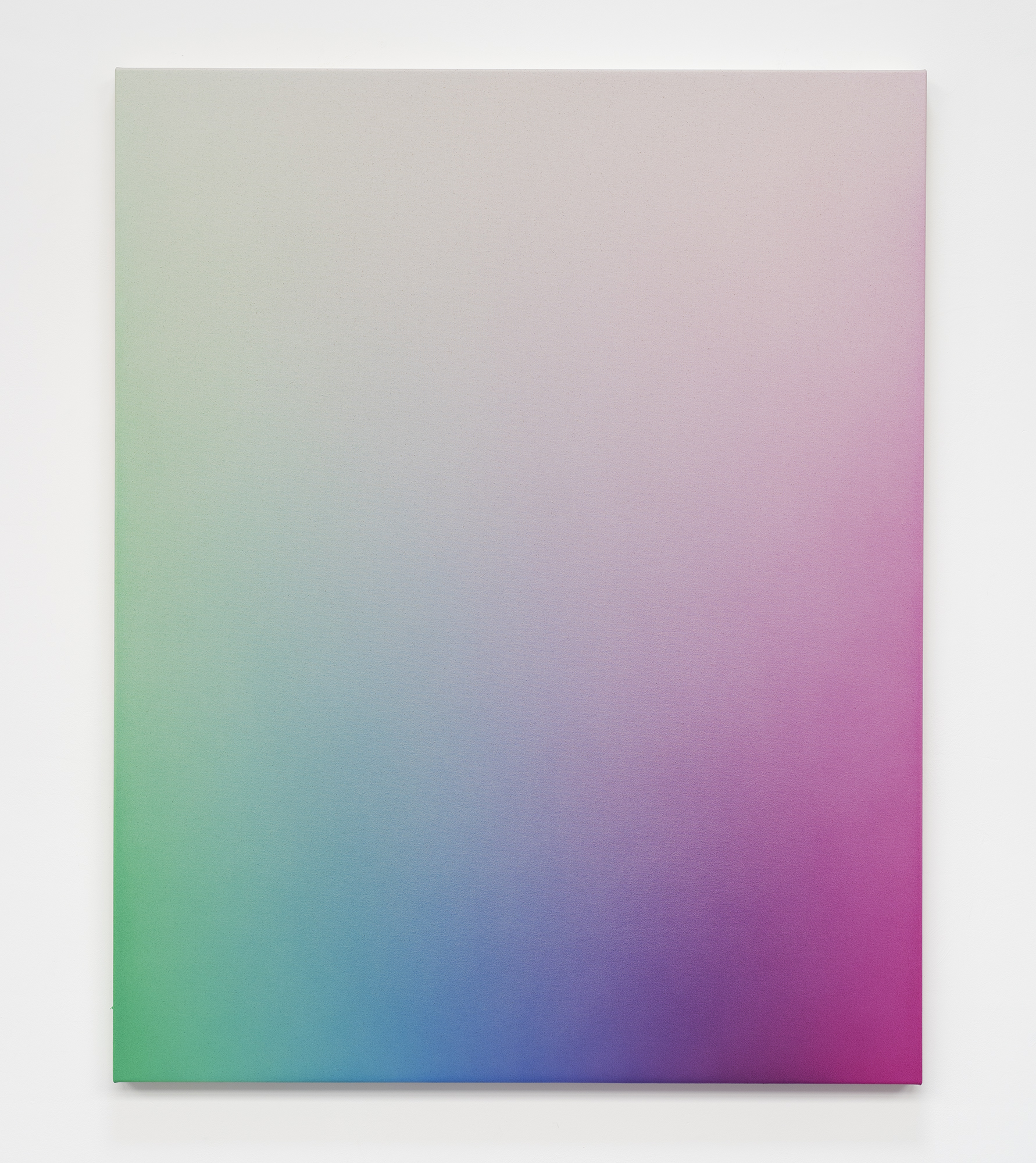 """<p><span class=""""name"""">Oliver Marsden</span><br><em>Spectrum Fade GCBVM II (light)</em><span class='media'>Acrylic on canvas</span>59.06 x 47.2in   150 x 120 cm<br>2017<br><a class='inquire' href='mailto:info@gildargallery.com?subject=Artwork Inquiry OMAR0001&body=I am interested in finding out more about Spectrum Fade GCBVM II (light) by Oliver Marsden'>Inquire</a></p>"""