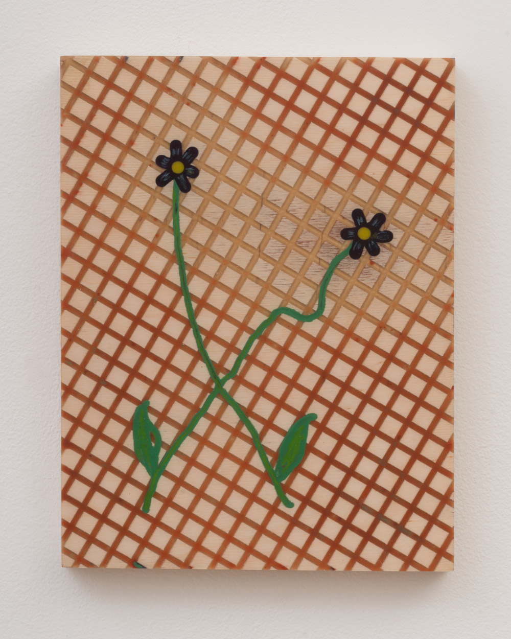 """<p><span class=""""name"""">Tommy Coleman</span><br><em>Two Flowers On My Picnic Blanket</em><span class='media'>UV resistant epoxy resin, food coloring, crayon, and pigment on panel</span>11 x 8.5 in (27.9 x 21.6 cm)<br>2018<br><a class='inquire' href='mailto:info@gildargallery.com?subject=Artwork Inquiry TCOL0005&body=I am interested in finding out more about Two Flowers On My Picnic Blanket by Tommy Coleman'>Inquire</a></p>"""
