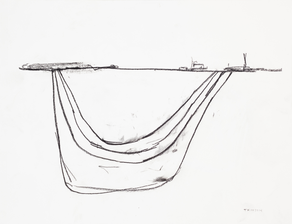 """<p><span class=""""name"""">William Stockman</span><br><em>Untitled (Thursday 10/30/14)</em><span class='media'>charcoal on paper</span>11 x 14in 13 5/8 x 16 1/8in Framed<br>2014<br><a class='inquire' href='mailto:info@gildargallery.com?subject=Artwork Inquiry WSTO0025&body=I am interested in finding out more about Untitled (Thursday 10/30/14) by William Stockman'>Inquire</a></p>"""
