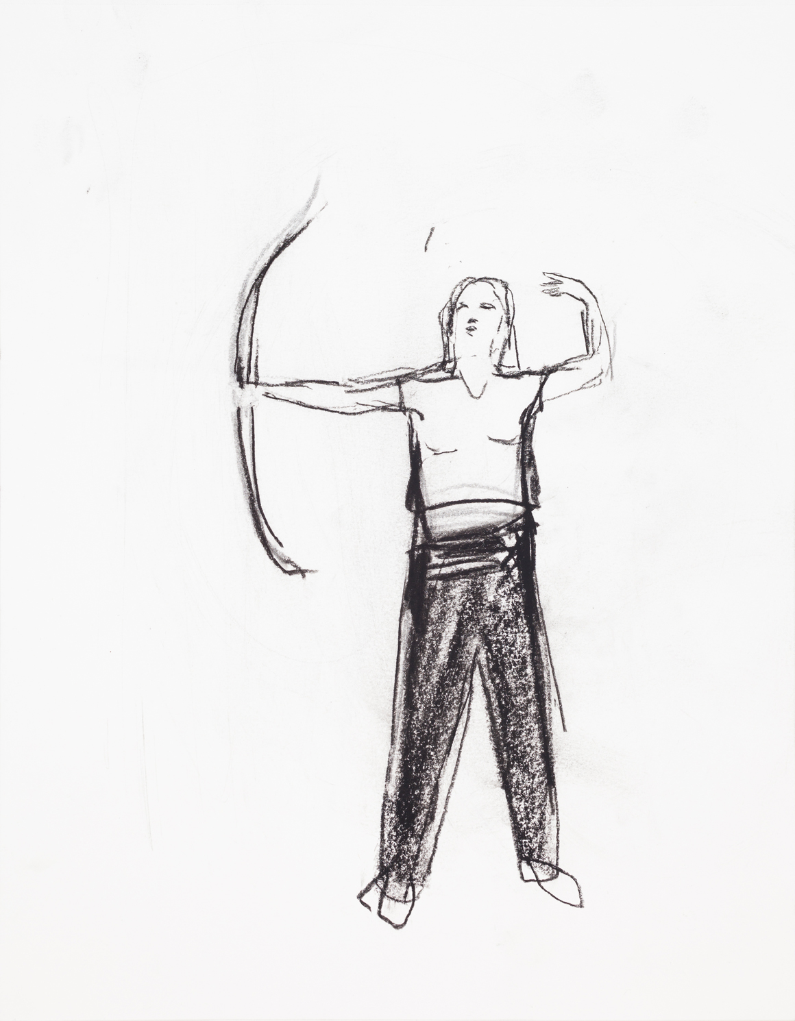 """<p><span class=""""name"""">William Stockman</span><br><em>Untitled (Archer 1)</em><span class='media'>charcoal on paper</span>14 x 11in 16 1/8i x 13 5/8in Framed<br>2014<br><a class='inquire' href='mailto:info@gildargallery.com?subject=Artwork Inquiry WSTO0039&body=I am interested in finding out more about Untitled (Archer 1) by William Stockman'>Inquire</a></p>"""