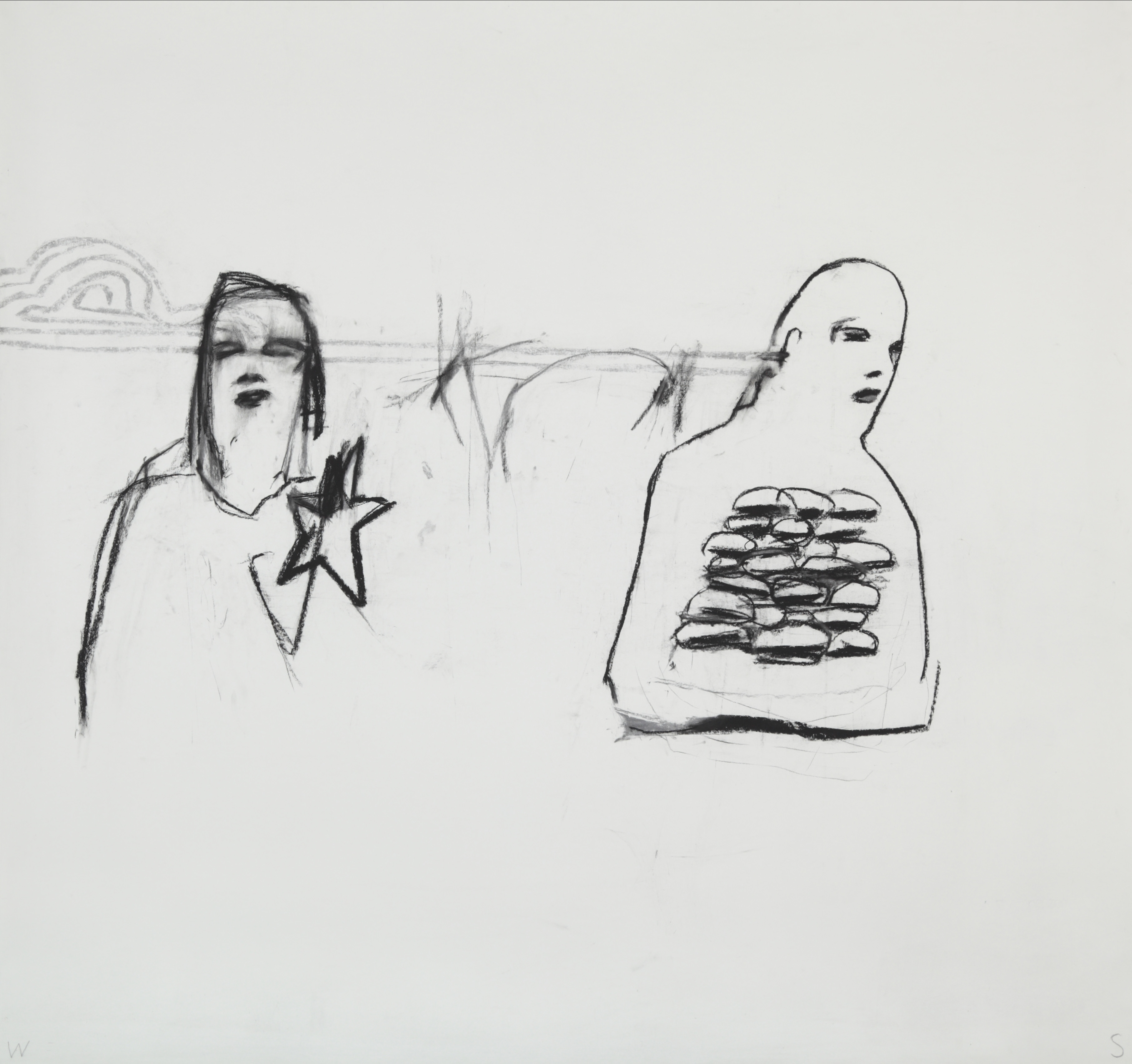 <p><em>Untitled (06/23/09)</em><span class='media'>charcoal on paper</span>72 x 68 in (182.9 x 172.7 cm)<br>2009<br><a class='inquire' href='mailto:info@gildargallery.com?subject=Artwork Inquiry WSTO0063&body=I am interested in finding out more about Untitled (06/23/09) by William Stockman'>Inquire</a></p>